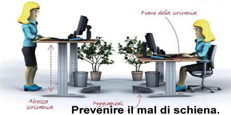 confermenza ergonomia ufficio lugano