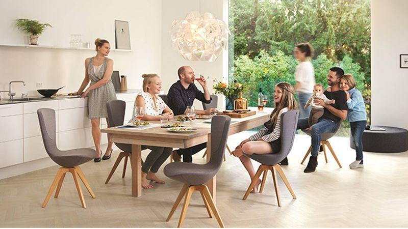 Sedie Per Tavolo Da Ergonomiche Pranzo Il lFJKc1